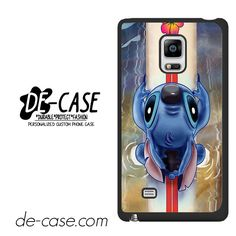 Waiting For The Perfect Wave Lilo And Stitch Disney DEAL-11779 Samsung Phonecase Cover For Samsung Galaxy Note Edge