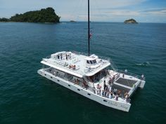 One Day Catamaran Tour in Manuel Antonio from San José Dolphin Tours, Quepos, Gran Hotel, Puntarenas, Enjoy The Sunshine, Tour Operator, Whale Watching, Catamaran, One Day