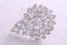SPECTACULAR  VINTAGE WEISS  Brooch circa 1960 by BraeHillAntiques, $195.00