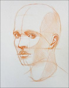 How to Draw a Portrait in Three Quarter View, Part 9