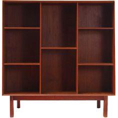 1950's Bookcase | Designer: Hvidt and Molgaard (Denmark)