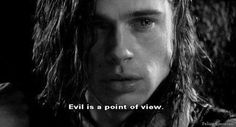Evil is a point of view; ann rice; vampire interview