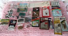 Fishing Tackle Mixed Lot 21 PC Reel Lures Hooks & Much More