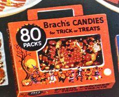 Vintage Halloween Candy Ads | Vintage Street Market Blog