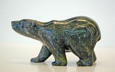 Bear, Tim Ezeekiel - Cape Dorset | Innuit Art Gallery, London Ontario