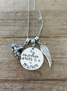 My Guardian Angel Is A Trucker - Highway Angel - Truck Driver