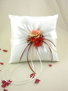 Fantastic Ring Pillow.