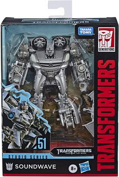 Transformers Toys Studio Series 51 Deluxe Class Dark of The Moon Movie Soundwave Action Figure - Kids Ages 8 and Up, -- More info could be found at the image url. (This is an affiliate link) Transformers Action Figures, Transformers Movie, Transformers Collection, Baby Girl Toys, Iconic Movies, Sound Waves, Live Action, Studio, Dark