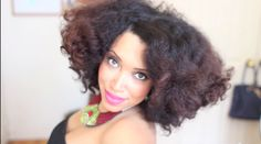 Bantu knot twist out on natural fresh washed hair video tutorial by Taren Guy. She uses Motions product to style her hair as part of her fearless campaign.