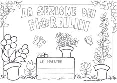 maestra Nella: sezione dei fiorellini, meduse, stelle marine e ar...