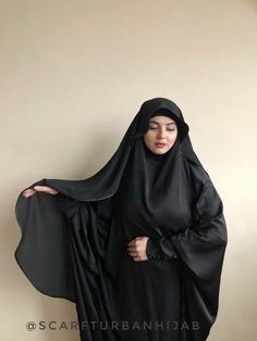 Wonderful elegant veil made by crepe chiffon and decorated of silk tape. You can buy this one veil separately or with khimar in set. Arab Girls Hijab, Girl Hijab, Muslim Girls, Beautiful Arab Women, Beautiful Hijab, Muslim Women Fashion, Islamic Fashion, Mode Abaya, Mode Hijab