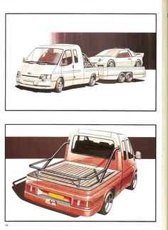 1985 Transit Consept Brochure (very rare) L Ford Transit Camper, Camper Conversion, Glass Roof, Transportation Design, Rear Seat, Concept Cars, Cars And Motorcycles, Cool Cars, Vaporwave