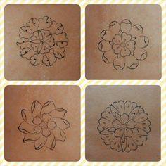 ff Turkish Pattern, Arabic Pattern, Pattern Drawing, Pattern Art, Sketch Design, Design Art, Zentangle, Flower Henna, Arabesque Pattern