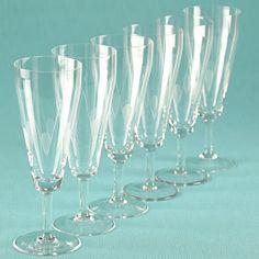 6 Vintage Sektgläser Trinkgläser Gläser ~ Art Deco - 30er 40er 50er Jahre K34