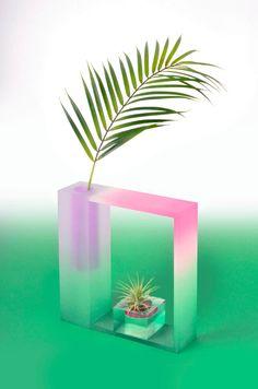 Vases en Acrylique du Studio Coréen «Hattern» #trends