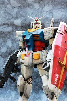 Custom Build: Mega Size 1/48 RX-78-2 Gundam + Weathering - Gundam Kits Collection News and Reviews