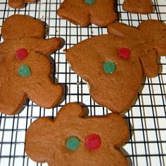 Gingerbread people bayou style!