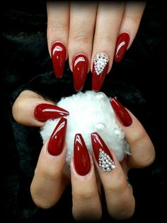 Perfect UV Gel nails with HIGH Definition Colour Gel.