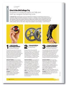Inc. Magazine Redesign - Tom Brown Art+Design