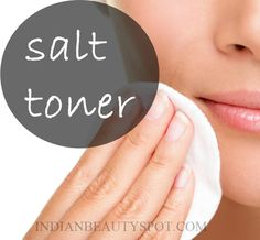 Salt has natural relaxing and soothing properties, and it also helps circulation and exfoliates your skin - DIY salt toner/ mist for clean and clear skin