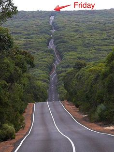 (*) Twitter That is a wiggly road, Love it.