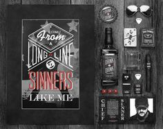 Eric Church Identity (Personal Project) by Cody Petts, via Behance