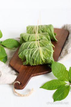Lettuce wraps // chocochili.net