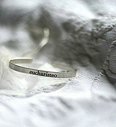 JoyWares   silver eucharisteo bracelet