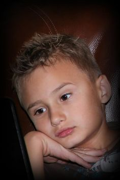 Boys hair cut. I think this is my favorite for back to school.