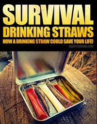Survival Drinking Straws!