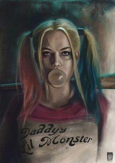 ArtStation - Fan art of Harley Quinn, Russell Brampton