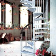External kit spiral staircase.  The Civik Zink