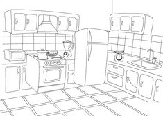 Coloring Pages Kitchen Free Online Printable Sheets For Kids Get The Latest Images Favorite To