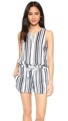Stateside Vertical Stripe Romper | SHOPBOP