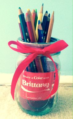How to save those Coke bottles with their names on them. Doing this for the kids!