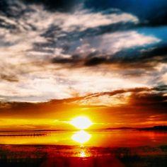 Sky n' nature Sky, Celestial, Sunset, Nature, Outdoor, Heaven, Outdoors, Naturaleza, Heavens