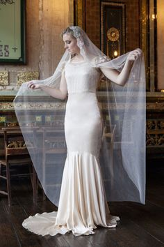 Stunning veil - perfect for the dress!