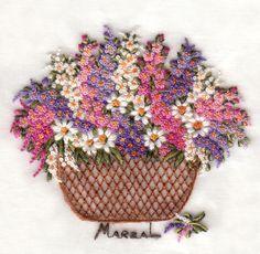 Очаровательные цветочные вышивки от испанской вышивальщицы Pilar Marzal - Ярмарка Мастеров - ручная работа, handmade