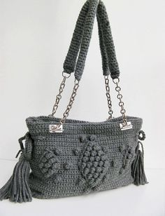 crochet bag-love the straps :)