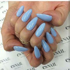 Sky blue nail 2017