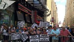 FINALLY NEW YORK STANDS UP TO OPPOSE OBAMA! #NoIranDeal #NoNukeDeal