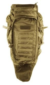 AMA 600D 36-Inch Airsoft Rifle Case Backpack - TAN