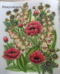 Another one from this beautiful book #blomstermandala #mariatrolle #fabercastell #polychromos #fabercastellpolychromos #prismacolor #prismacolorpremier #arttherapy #adultcoloringbook #adultcoloring #adultcolouring #adultcolouringbook