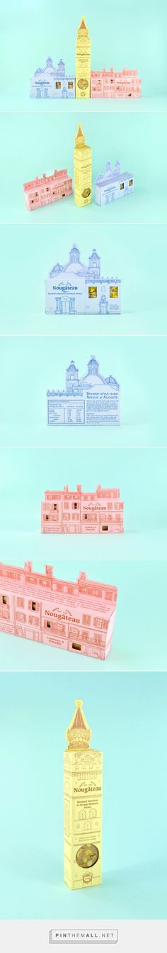 Nougâteau (Student Project) on Packaging of the World - Creative Package Design Gallery - created via https://pinthemall.net