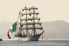 Cuauhtemoc sail training ship by Genaro Diaz photographs on Creative Market