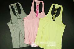 Fashion Sports Running Training Gym Tank Tops Regata Feminina Women Fitness Blusa Sleeveless Shirt Ropa Deportiva Mujer