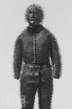 Russian bear hunting armor from the 19th century