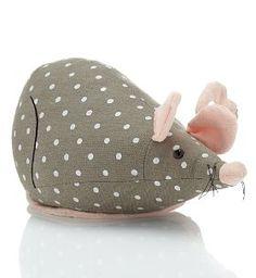 Spotty mouse doorstop £18