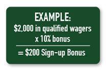 AmWager Sign-Up Bonus