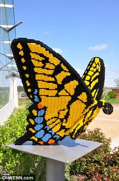 Plastic fantastic: Lego artist's extraordinary creations built from 500,000 bricks go on show